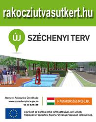Rákóczi út - Vasútkert projekt oldal