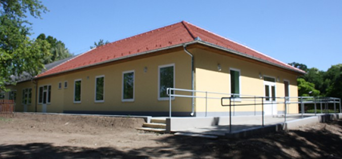 Befejeződött a Platán Otthon korszerűsítése