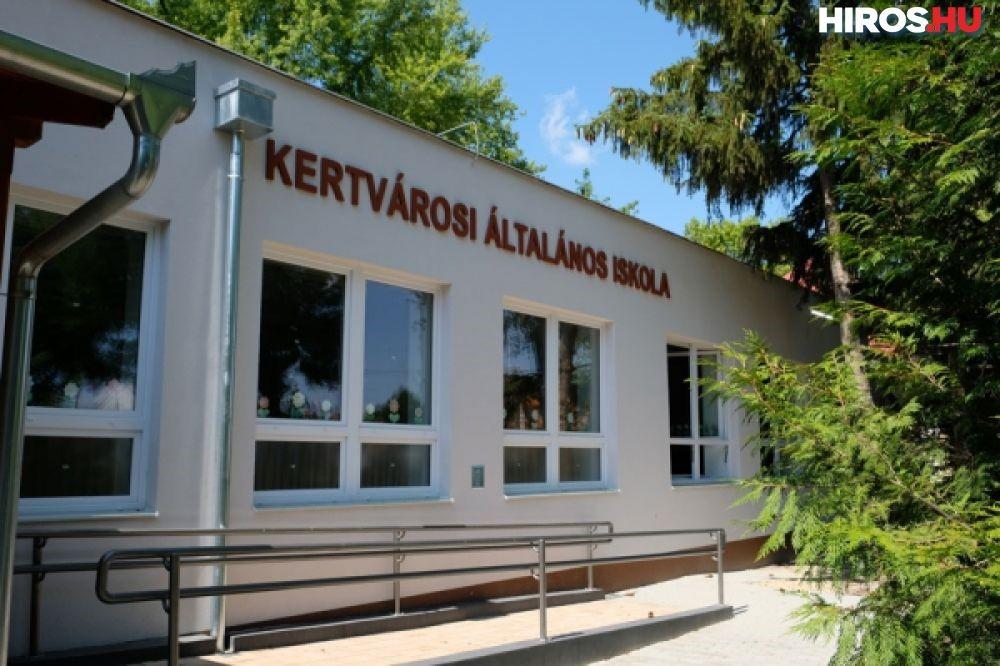 Megújult a Kertvárosi Általános Iskola