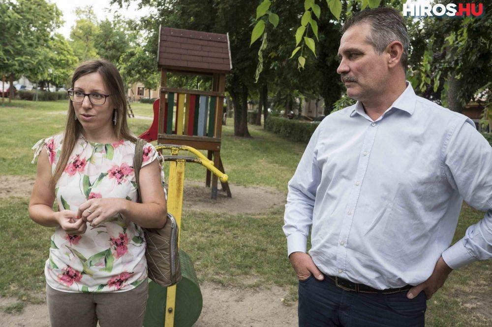 Örökbe fogadták és felújították a Temes téri parkot