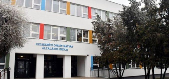 Befejeződött a Corvin Mátyás Általános Iskola energetikai korszerűsítése