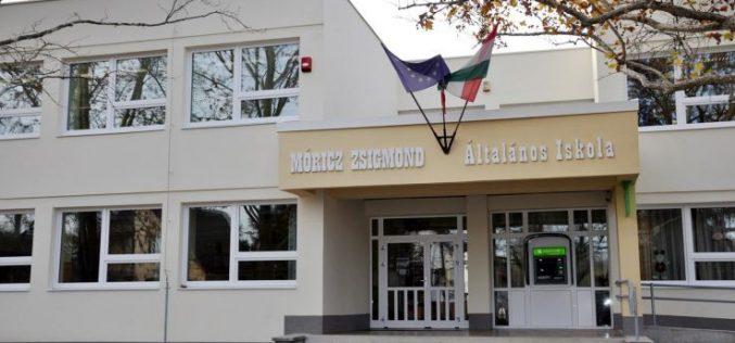 Energetikailag korszerűsítették a Móricz Zsigmond Általános Iskolát