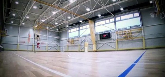 Elkészült a Bányai Júlia Gimnázium sportcsarnoka